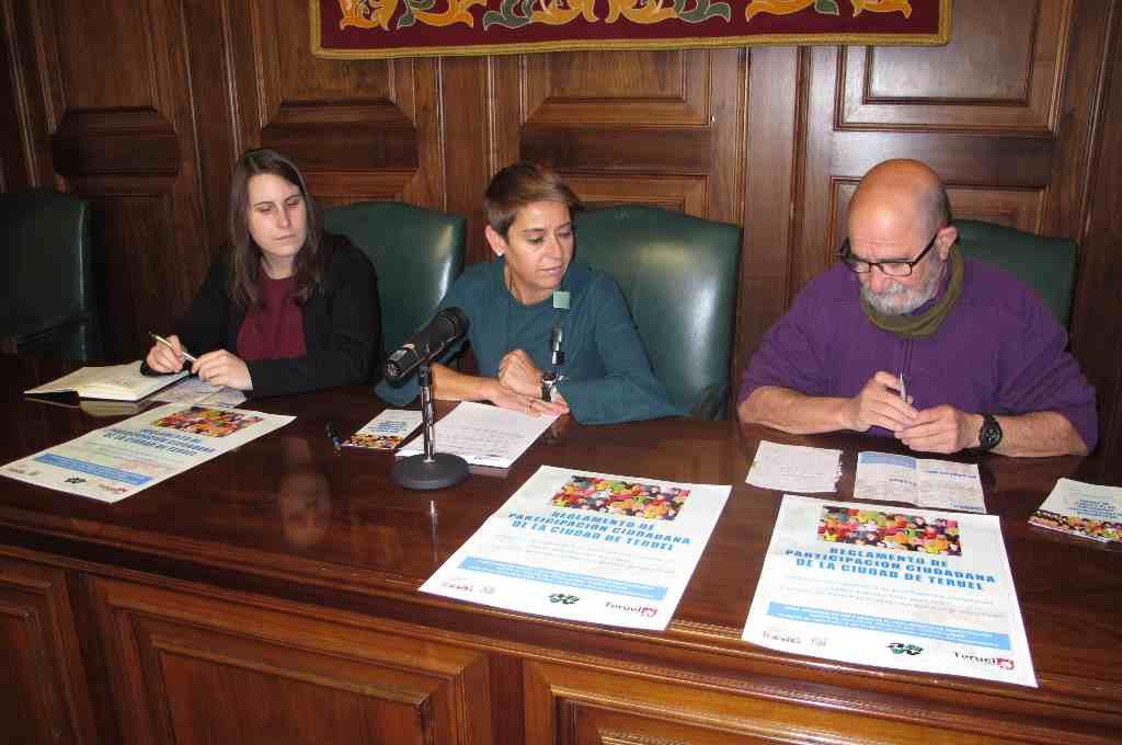 El Ayuntamiento de Teruel organiza un taller sobre el Reglamento de Participación Ciudadana