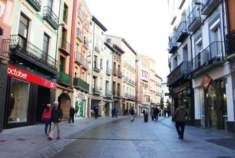 Con Huesca Podemos Equo denuncia la «desidia» del Ayuntamiento con la ubicación del mercado ambulante ante el comienzo de las obras del Coso