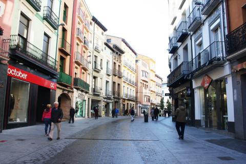 CHA Uesca considera que las condiciones de la zona peatonal discriminan a los residentes
