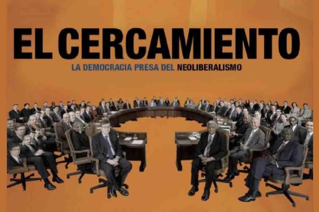 "CSA À Ixena proyecta el documental ""El Cercamiento, la democracia presa del neoliberalismo"""