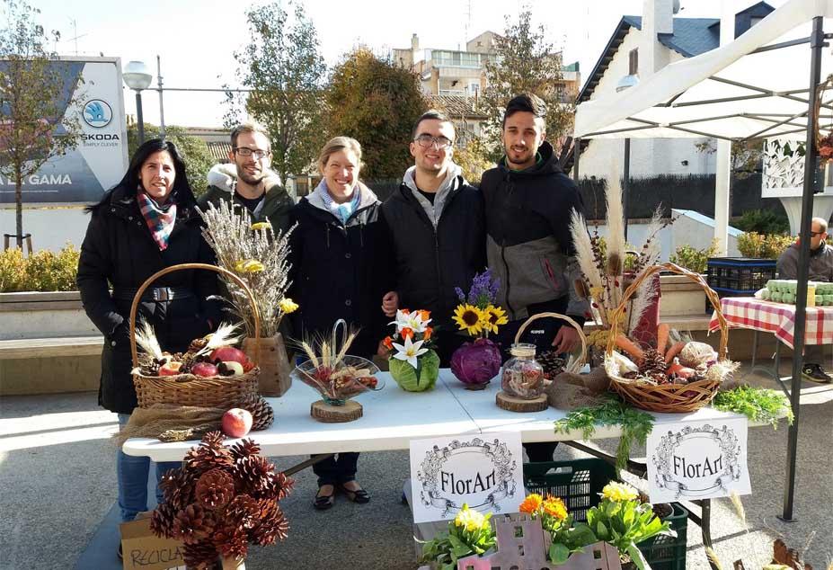 La Hoya Verde se suma a FLORART, proyecto de educación activa del IFPE Montearagón