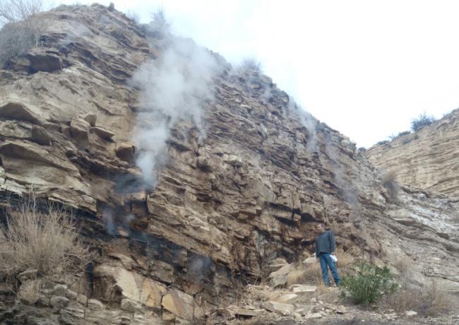 Detectadas cerca de 50 bocaminas abiertas y 10 grietas en la mina de carbón abandonada de Mequinensa