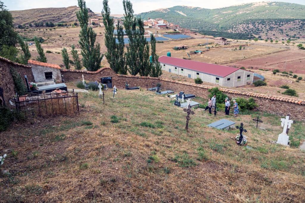 Arrancan los trabajos de exhumación de dos fosas en Pomer
