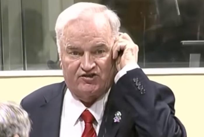 Ratko Mladić condenado a cadena perpetua en primera instancia