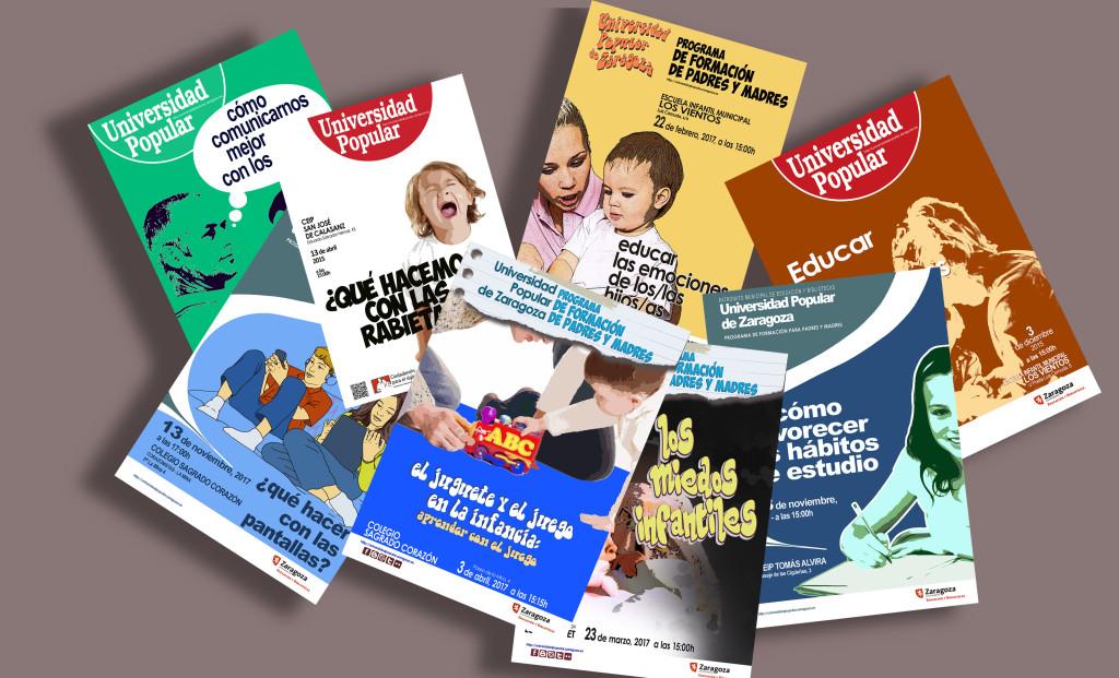 La Universidad Popular de Zaragoza pone en marcha el Programa de Formación para madres y padres