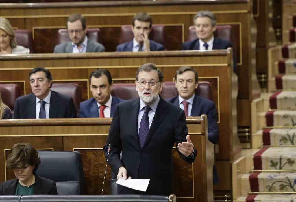 Rajoy con el discurso de siempre: tranquilidad, ley y recuperación económica