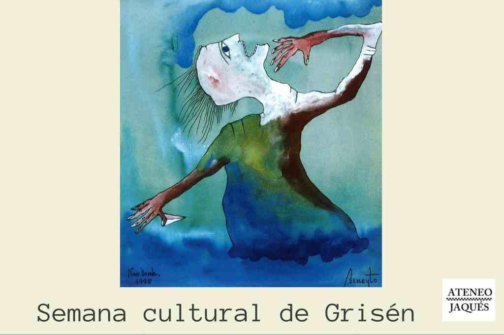 El Ateneo Jaqués participa en la Semana Cultural de Grisén