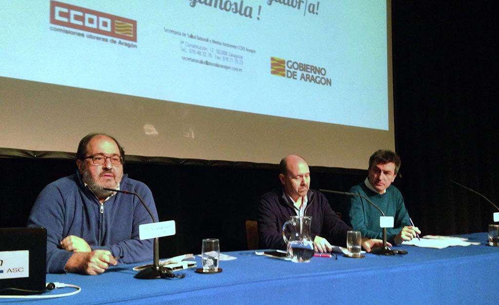 """CCOO incide en la importancia de """"la vigilancia de la salud"""" en las empresas aragonesas"""