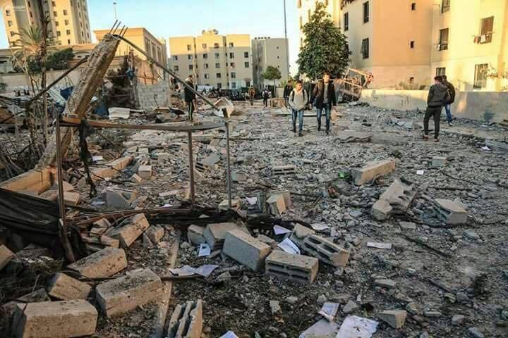 Israel ataca la Franja de Gaza por tierra y aire