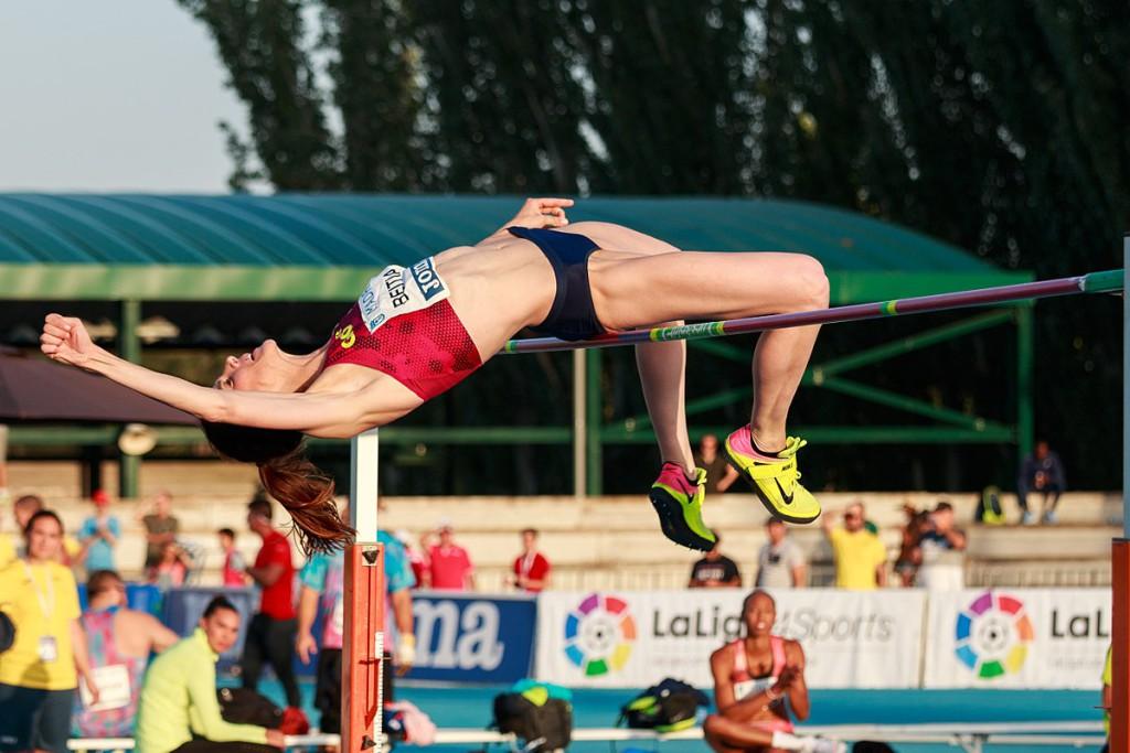 La especialista en salto de altura Ruth Beitia recogerá la Medalla de Oro del Deporte de Zaragoza