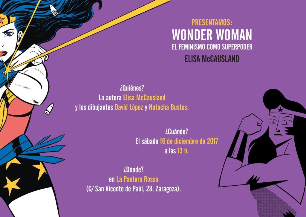 Wonder Woman llega a La Pantera Rossa para hablar de feminismo