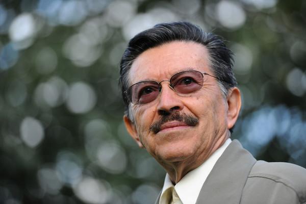 Almada en 2010, cuando recibió el 'Premio Nobel Alternativo'. Foto: Wolfgang Schmidt