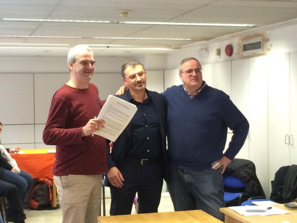 FIARE Banca Etica y REAS Red de redes formalizan su colaboración con la firma de un convenio