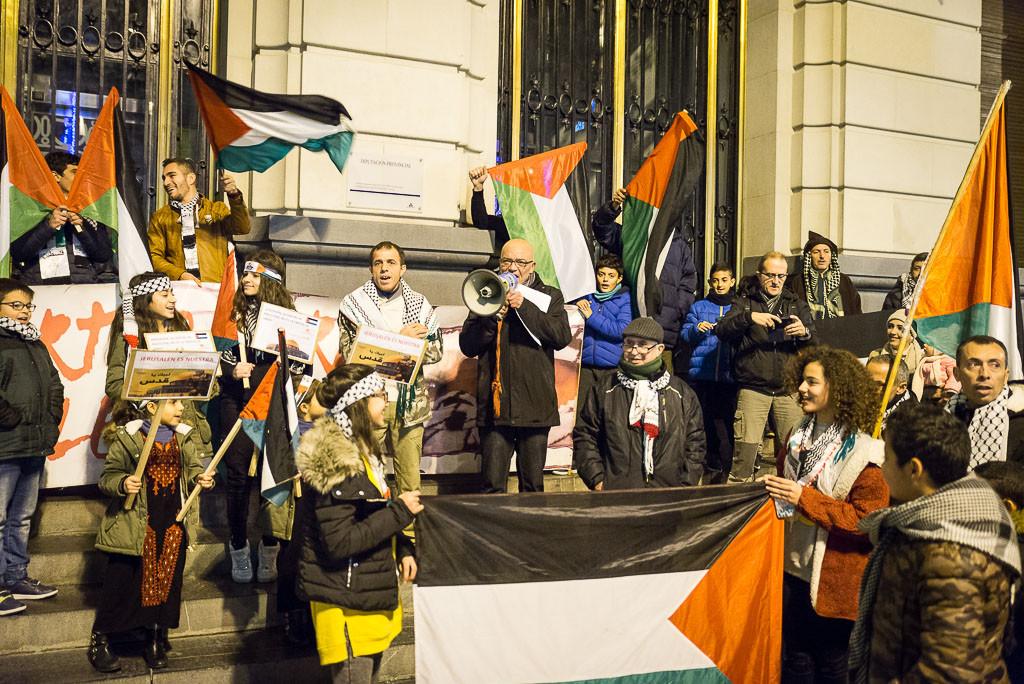Casa Palestina de Aragón: 'Jerusalén es la capital de Palestina, no de Israel'