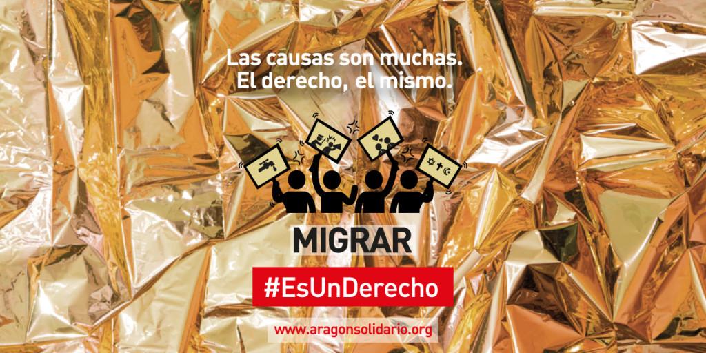 Migrar #EsUnDerecho. Las causas son muchas. El derecho, el mismo