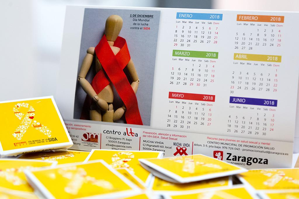 Aragón se vuelca en el Día Mundial de la Lucha contra el VIH y el SIDA