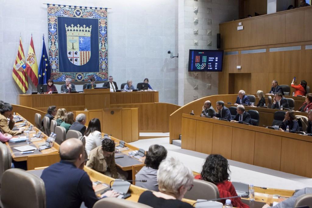 Las Cortes votarán una Proposición No de Ley que demanda que el EVA tenga parada en Aragón