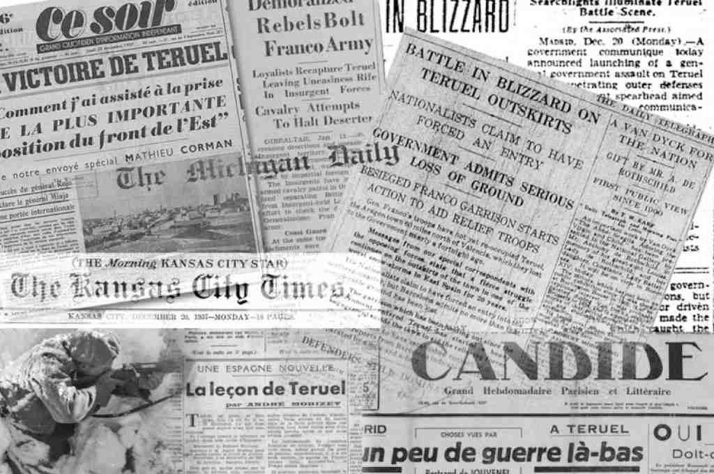 CGT y CNT organizan unas jornadas con las que abordar los 80 años de la batalla de Teruel