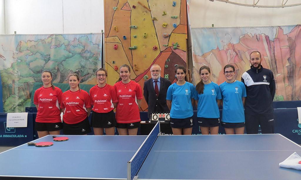 Importantes encuentros de los equipos aragoneses de tenis de mesa en la última jornada del año