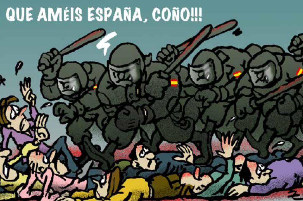 """""""Illegal Times"""": una revista satírica que denuncia la represión del Estado español en Catalunya"""