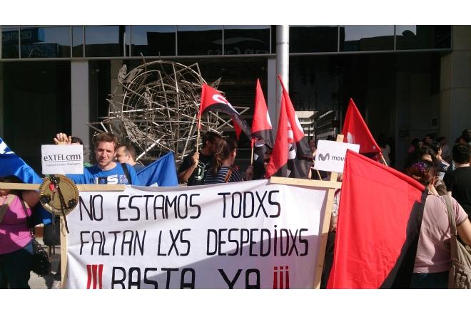 Huelga de 24 horas en Extel-Movistar