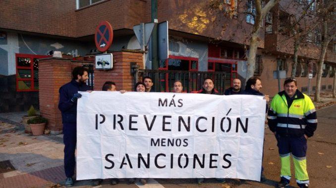 GTI-IA muestra su solidaridad con los trabajadores sancionados por CAF Zaragoza