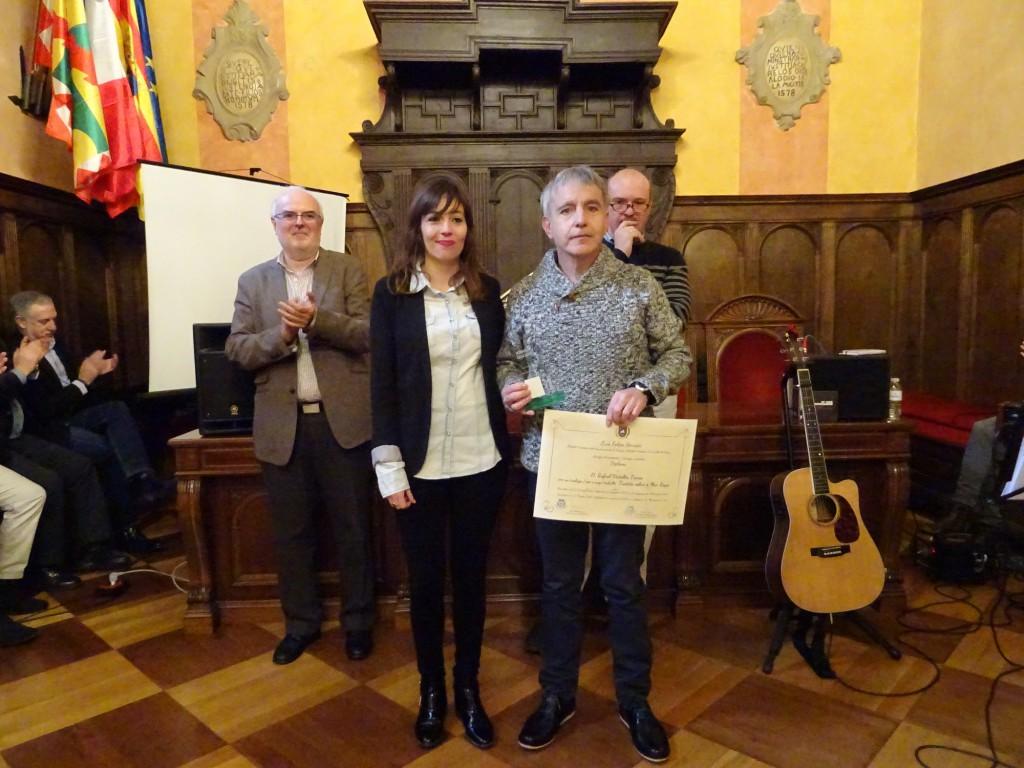 Entrega de los II Premios Pedro Lafuente en aragonés