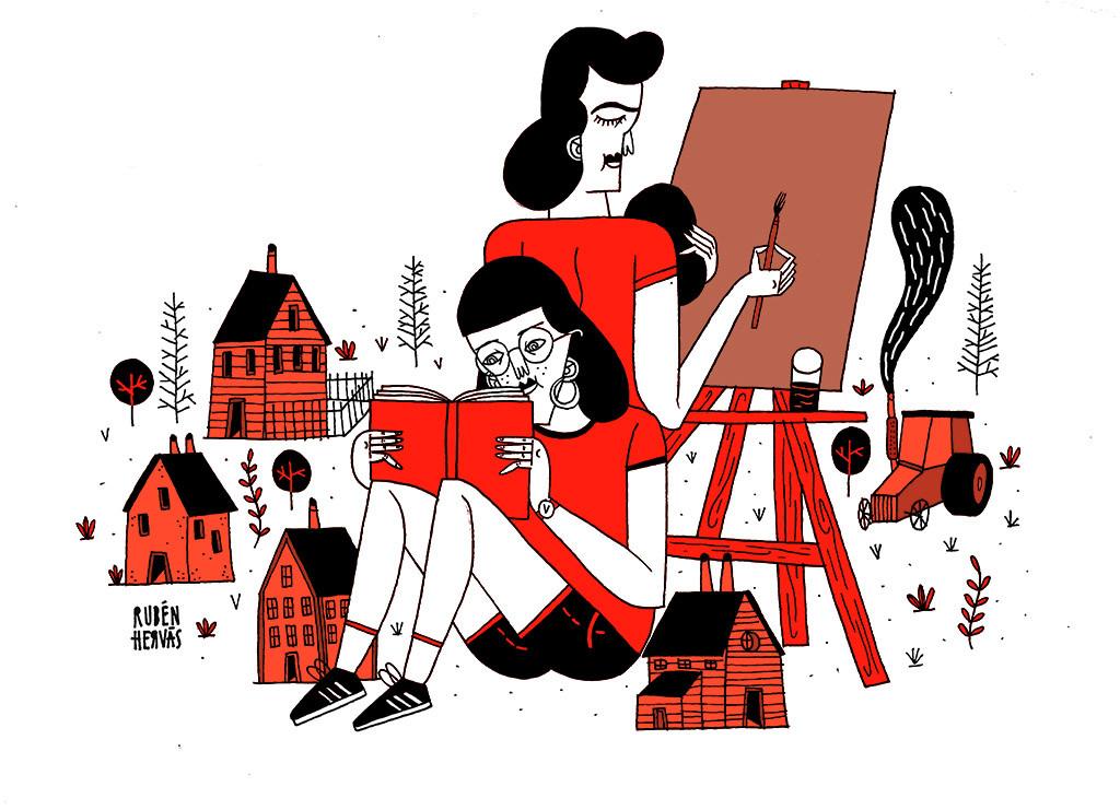 Lugars e cultura: espácios de mullers