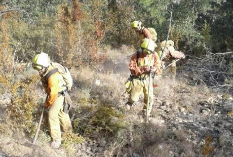 El Gobierno de Aragón presentará una denuncia ante la Fiscalía por los últimos incendios