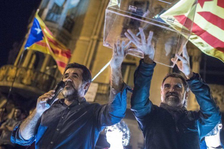Amnistía Internacional solicita la excarcelación de Jordi Cuixart y Jordi Sànchez una vez concluido el juicio oral