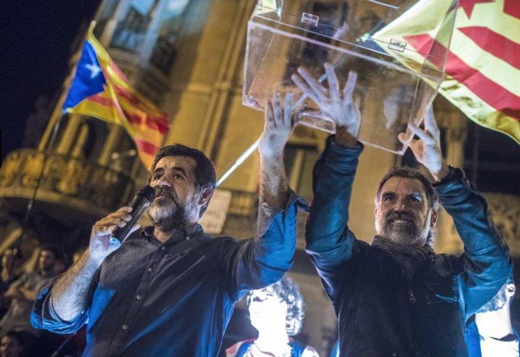 El Supremo mantiene en prisión a los Jordis, Junqueras y Forn y fija fianzas de 100.000 euros para el resto