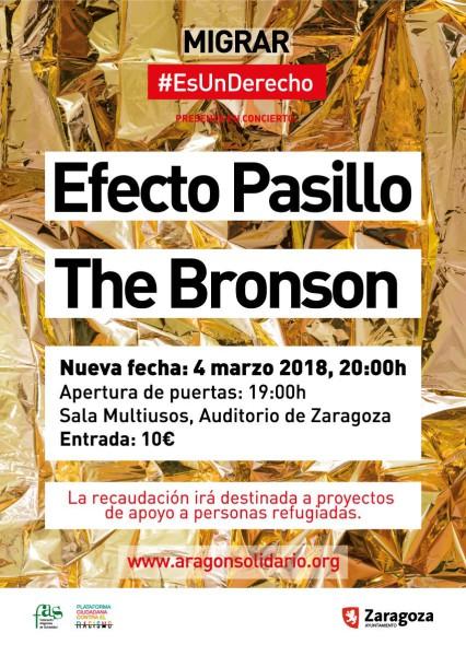 #MigrarEsUnDerecho concierto 4M2018