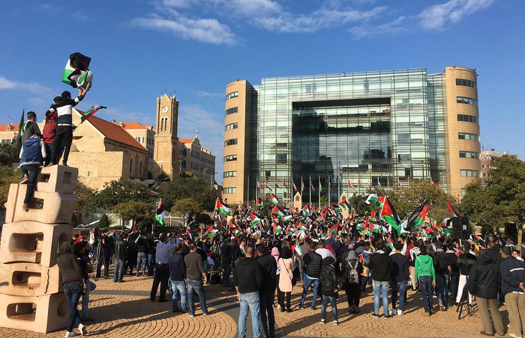 9 personas asesinadas, 3.400 heridas y 430 detenidas en los territorios palestinos ocupados tras la declaración de Trump sobre Jerusalén