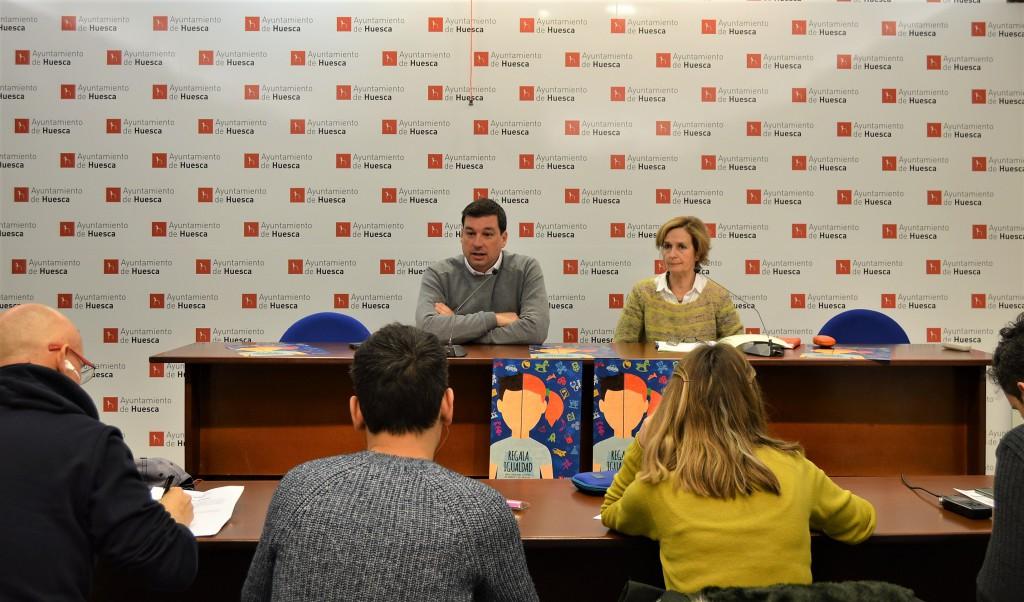 El Ayuntamiento de Uesca amplía su campaña 'Regala Igualdad' para fomentar los juguetes no sexistas y no violentos