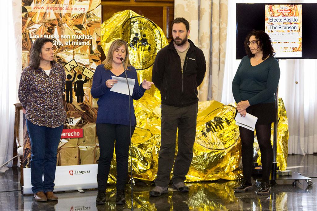 """Zaragoza refuerza el respaldo a las personas refugiadas con la segunda fase de la campaña """"Migrar #EsUnDerecho"""""""