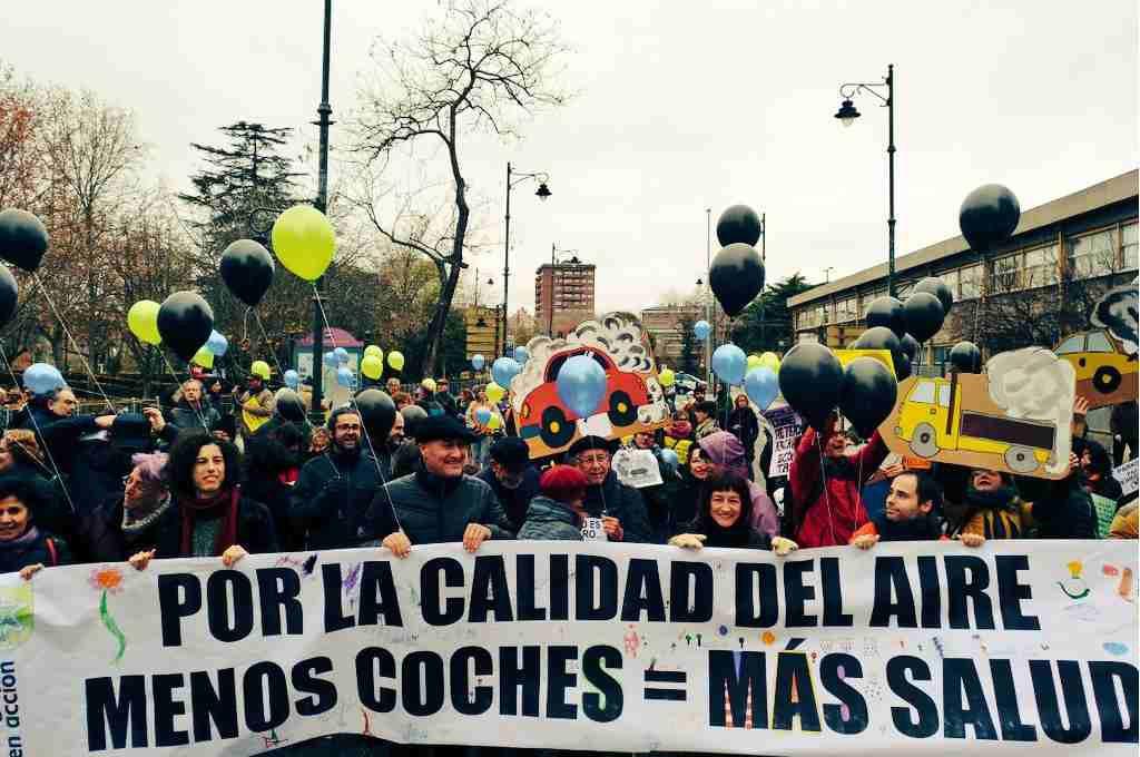 Ecologistas en Acción cierra su VII Congreso Confederal con una marcha por la calidad del aire en Valladolid