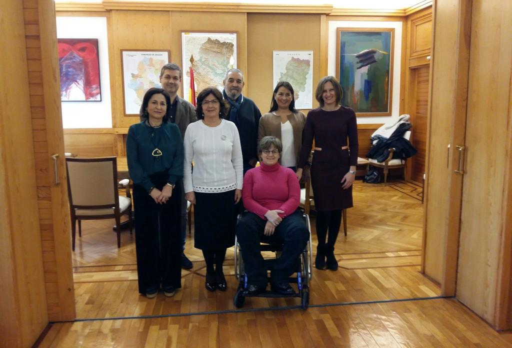 Gobierno de Aragón y CERMI colaborarán en la lucha contra la discriminación