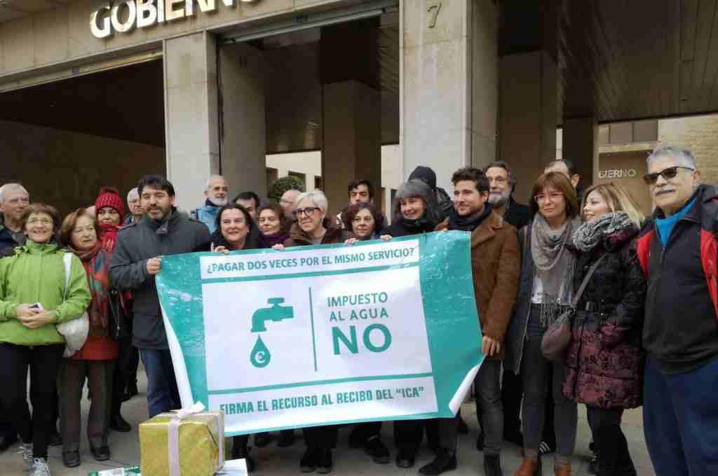Zaragoza en Común muestra su satisfacción por los 7.000 recursos recogidos contra el ICA
