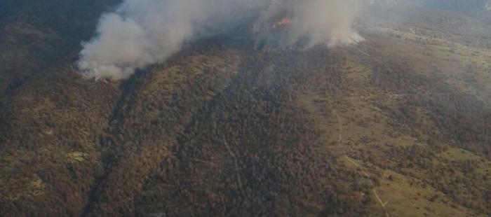 Nuevos medios de extinción se incorporan al incendio de Torre la Ribera