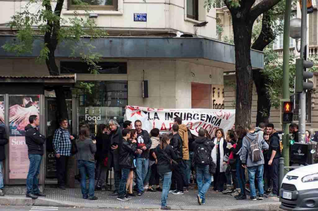 La Audiencia Nacional rebaja la pena de La Insurgencia a seis meses y un día de cárcel