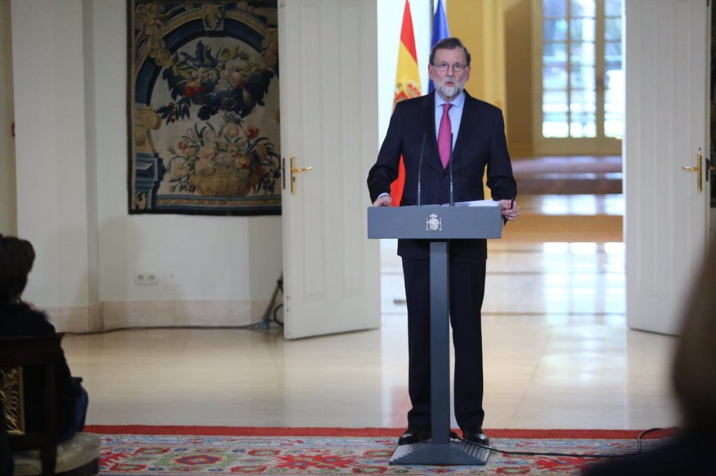 Rajoy impone el día en que Catalunya debe tener nuevo Govern de la Generalitat