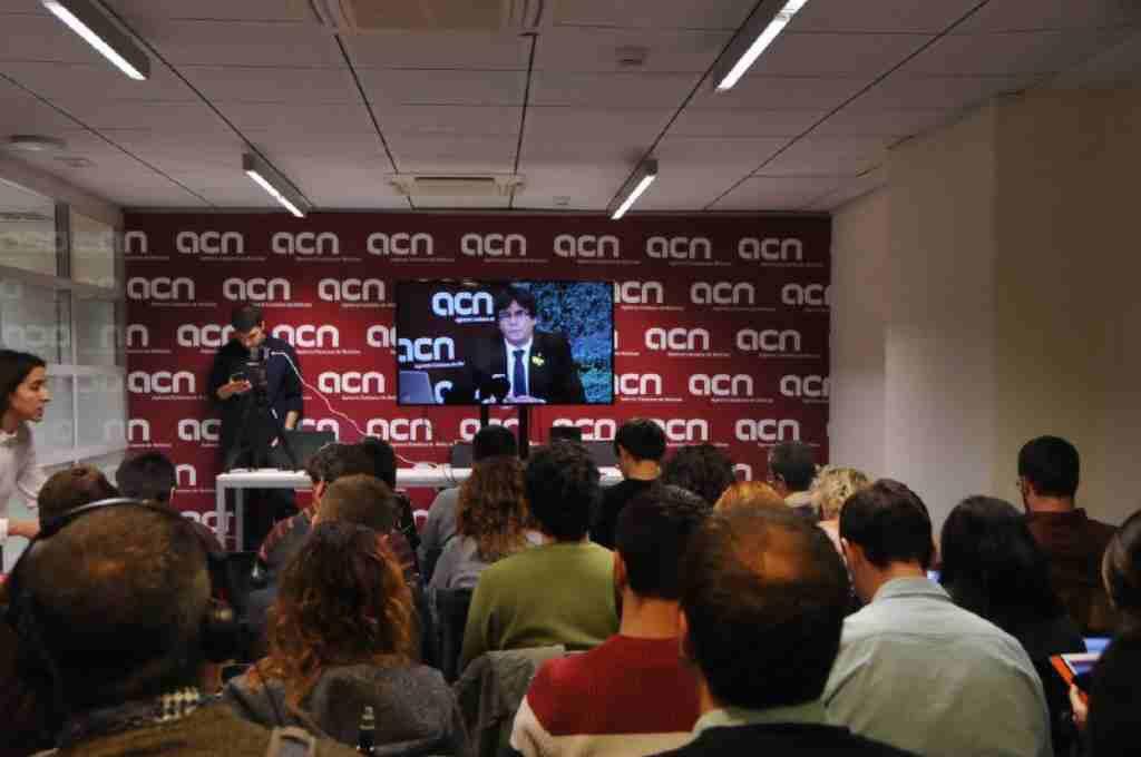 Puigdemont exige al unionismo que acepte los resultados de las elecciones