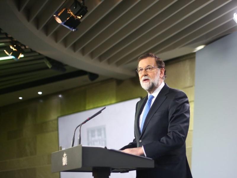 Mariano Rajoy solo quiere sentarse a dialogar con Inés Arrimadas