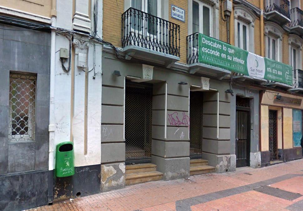 PP, PSOE y Ciudadanos despeatonalizan parte de la calle San Miguel de Zaragoza