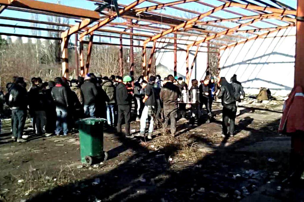 Šid, la frontera entre Serbia y Croacia donde la situación de las personas refugiadas es desesperada