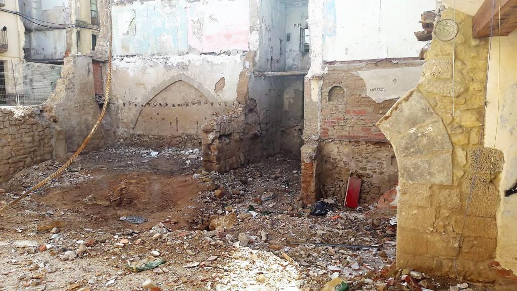 """Ganar Alcañiz denuncia el estado de """"abandono y destrucción"""" del Casco Histórico de la ciudad"""