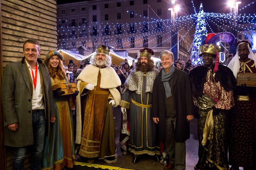 Los Reyes Magos surcan todo el territorio aragonés