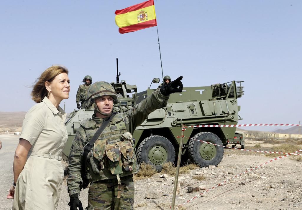 """El temario educativo del PP """"promueve la defensa de España como instrumento necesario para construir la paz"""""""