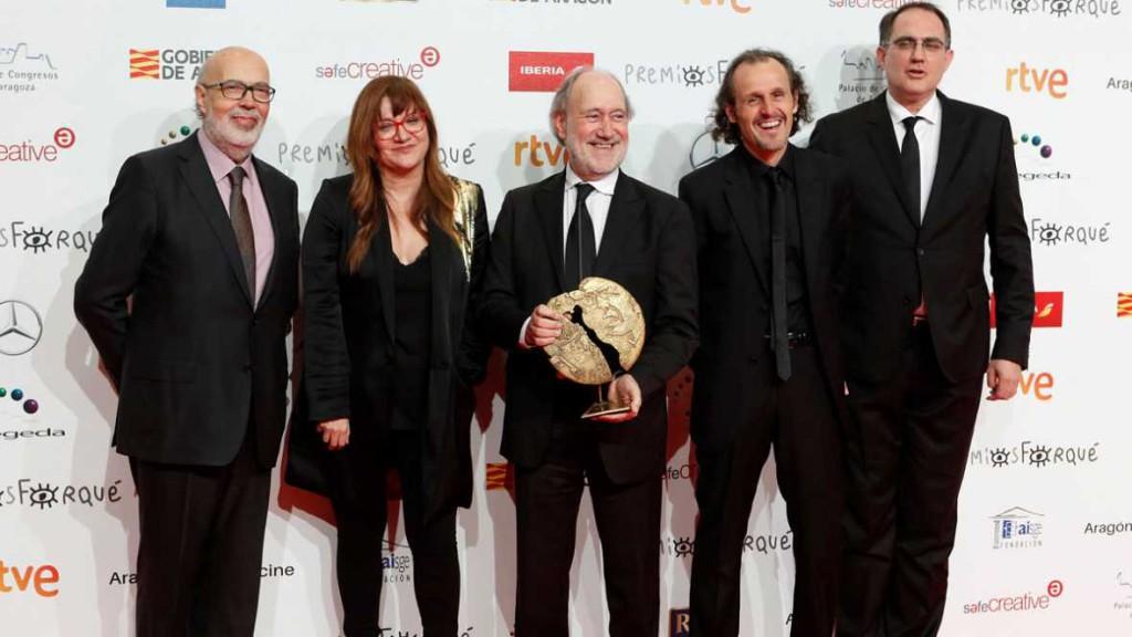 'El autor' y 'La librería' comparten el galardón al Mejor Largometraje de Ficción en los 23 Premios Forqué