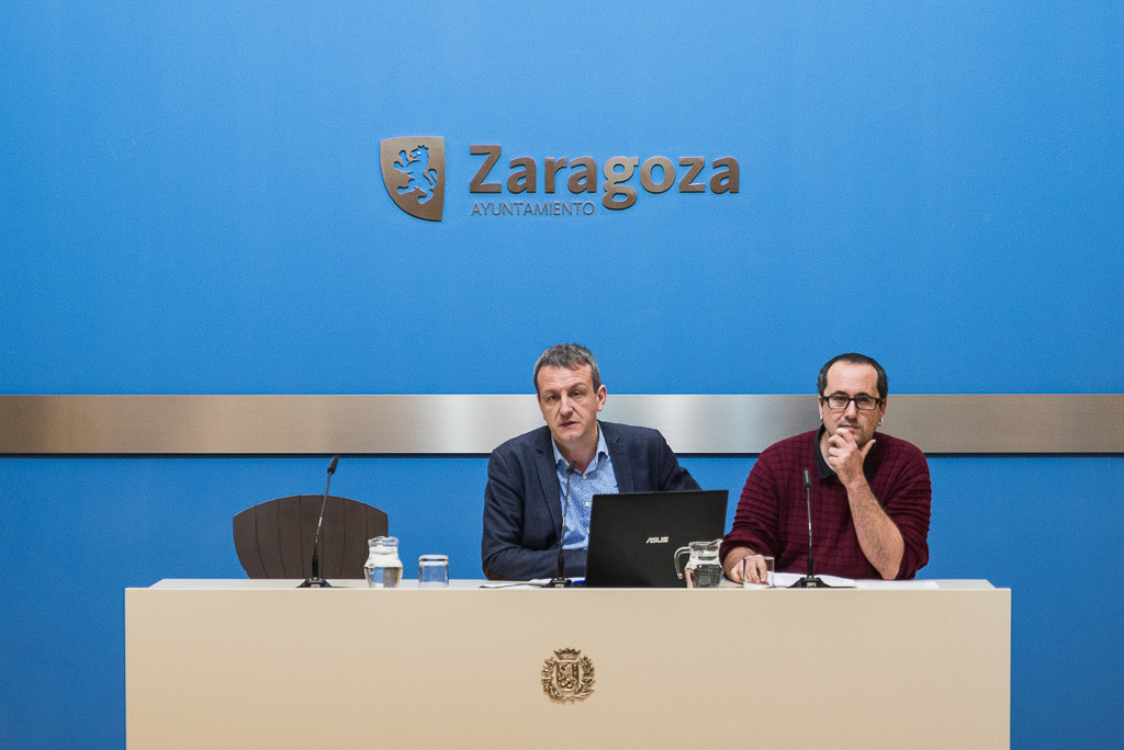 Zaragoza deja a cero las deudas con las grandes contratas de los servicios públicos municipales
